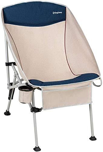 YYZZ Ultra-léger Portable Pliant Chaise de Sac à Dos de Camping Compact et Durable Camping en Plein air Barbecue Plage avec 2 Sacs de Rangement et Sacs à Main