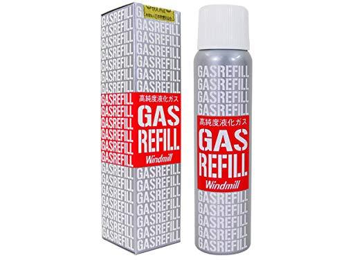 [ウインドミル] ガスボンベ ガスライター専用 高純度液化ガスレフィル x6本