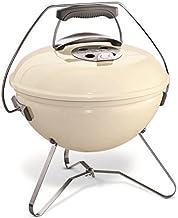 WEBER Barbecue a charbon Smokey Joe Premium Ø37 cm - Acier chromé - Ivoire
