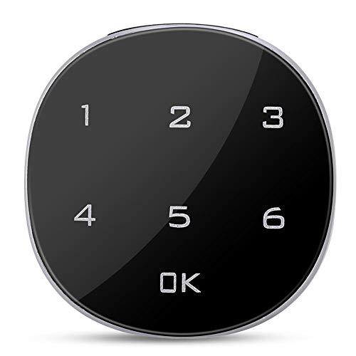 Zer one1 Cerradura electrónica Segura con Cerradura codificada Digital, combinación de código de Pantalla táctil para Archivo de buzón de gabinete