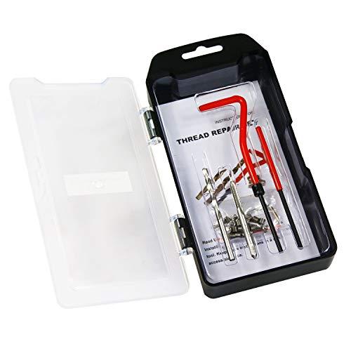 BestsQ Gewinde-Reparatur-Set, M4 x 0,7 mm, metrisches Gewinde, Reparatur-Set, kompatibles Handwerkzeug-Set für Autoreparatur (M4–0,7)