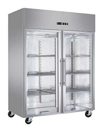 Tiefkühlschrank ECO - 1,48 x 0,83 m - mit 2 Glastüren