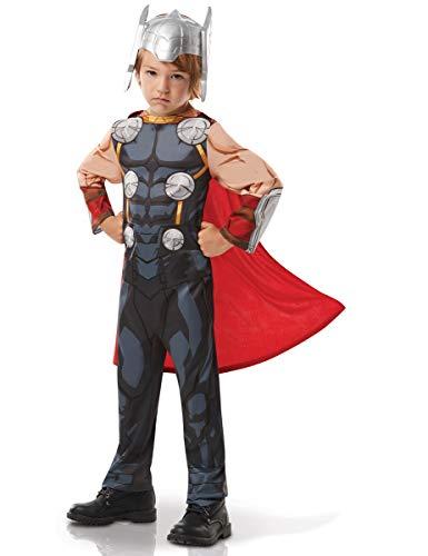 Rubies 640890 9 – 10 Marvel Avengers Thor Classic - Disfraz infantil para niños, talla única