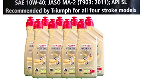 Castrol Power 1 Racing 4T 10W-40 motorolie 9x1 liter Specificaties API SJ JASO MA2