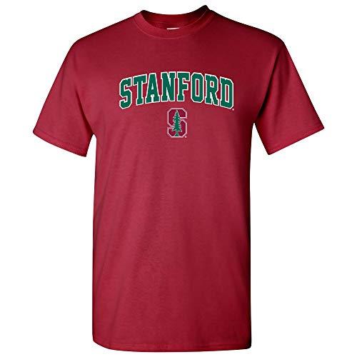 AS03 - Stanford Cardinal Arch Logo T-Shirt - Medium - Cardinal