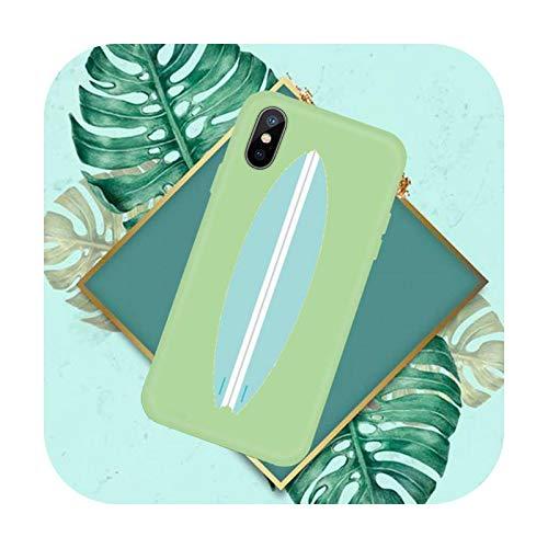 Hot Sea Wave Surf Summer Surf Ocean Phone Case Color Candy para iPhone 11 12 Mini Pro XS MAX 8 7 6 6S Plus X SE 2020 XR-a11-iPhone SE 2020