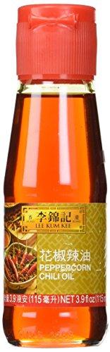 Lee Kum Kee Brand Peppercorn Chili Oil in 3.9fl oz (115ml) bottle