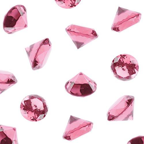 pink acrylic gems - 5