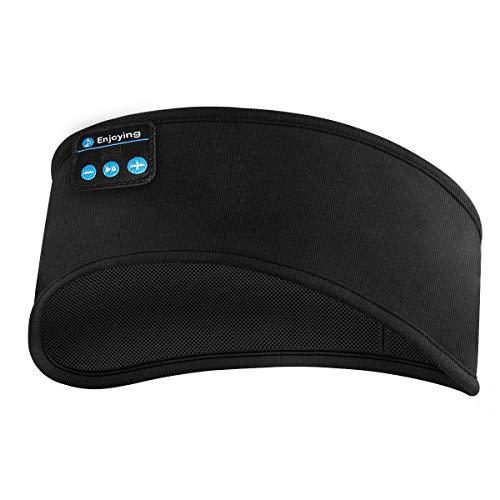 SOONHUA Diadema con Bluetooth Auriculares con Bluetooth Transpirables para Correr Dormir Caminar Y Practicar Yoga