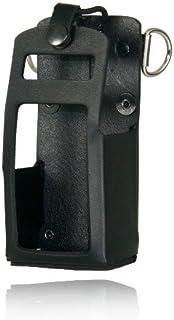 5701RC-1 - Boston Leather Radio Holder For Motorola APX 4000 Kenwood TK-2180 TK-3180