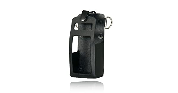 5701RC-1 Boston Leather Radio Holder For Motorola APX 4000 Kenwood TK-2180 TK-3180
