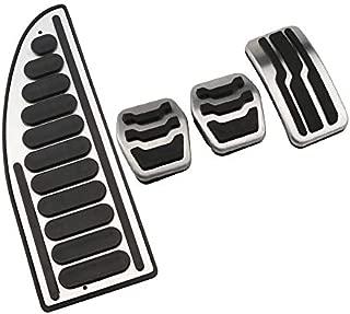 Emblema Trading Emblem Pedal Set acciaio inossidabile A4/B8/S4/A5/S5/Q5/SQ5/automatico calotte Pedale LHD