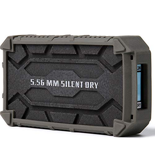 SD SILENT DRY Pioneer Gun Safe Dehumidifier, Wireless, Reusable, Portable Dryer, Safe mini mold remover for Gun / Camera / Instrument, 1 pieces in one package, with Protective Indicator Frame