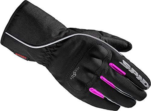 Spidi WNT-2 Damen Motorrad Handschuhe Schwarz/Pink L