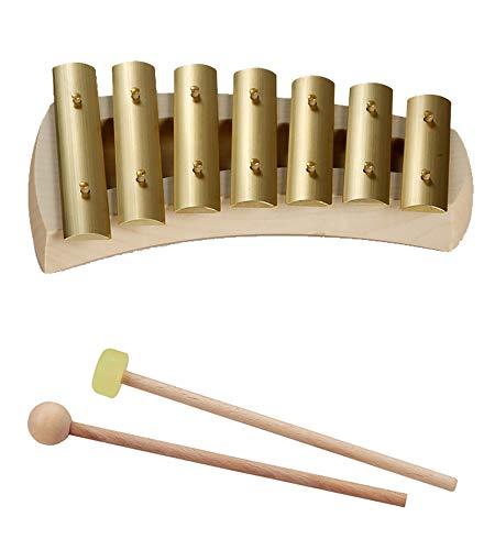 Auris Glockenspiel 7 Töne pentatonisch, Quintenrein Stimmung 432 Hz