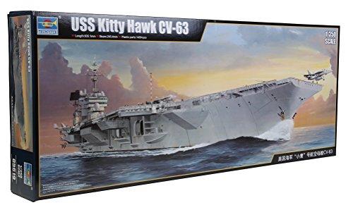 Trumpeter 05619 - Modellbausatz USS Kitty Hawk CV-63