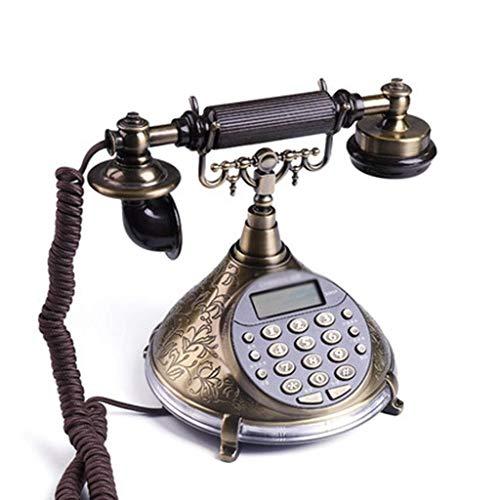 MHTCJ Antike Feste Telefon High-End Haus Retro Wired Festnetztelefon for Home Hotel