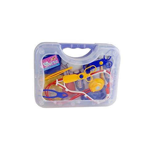 Doktorkoffer Arztkoffer Puppen Doktor 27x20x7cm Arzttasche Spielzeug Stethoskop