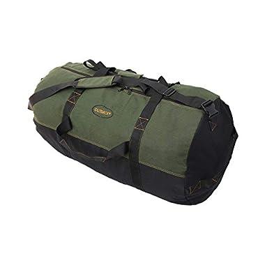 Ledmark Heavyweight Cotton Canvas Duffle Bag - Size Medium 24  x 16