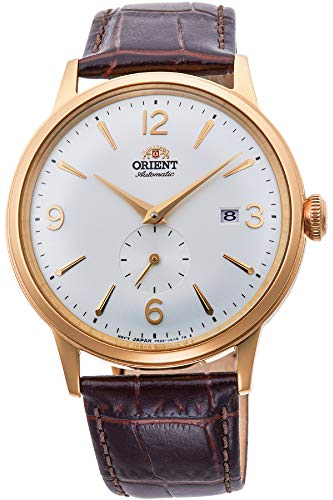 Orient Herren Analog Automatik Uhr mit Leder Armband RA-AP0004S10B