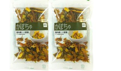 【北海道産】ドライ野菜(乾燥野菜)かぼちゃ 50g入り 2袋セット