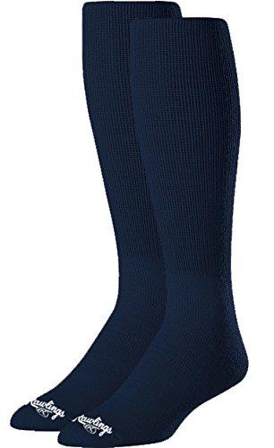 Rawlings SOCL-NVY Baseball Socks 2 Pair