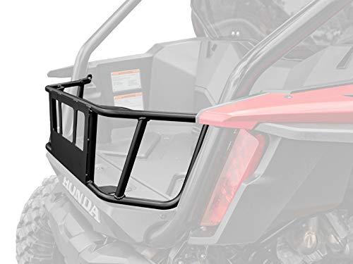 SuperATV Honda Talon Bed Enclosure: Tubed Bed Enclosure Compatible with Honda Talon 1000 X / 1000R / 1000 X-4 - Steel Frame with UV Resistant Powder Coating - Honda Tailgate Accessories