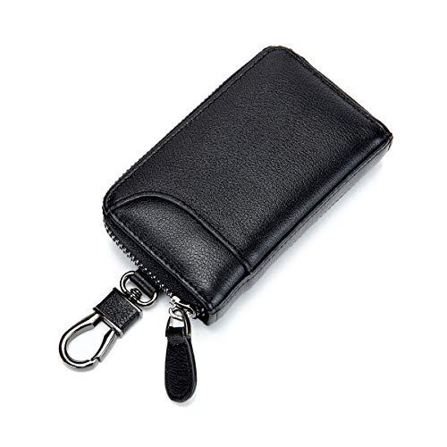 キーケース メンズ カードキーケース レザー スマートキーケース 車キーケース 本革 6連 2つ外側ポケット ...