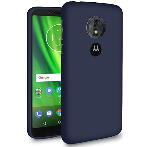 Handy-Hülle in Dunkelblau für Motorola Moto E5 Play (US Version) | Ultra-Slim Ma