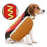 -- Realizzato in materiale ecologico, morbido, leggero, molto comodo da indossare. -- Design a forma di hot dog con un bel colore che rende il vostro cane chic e adorabile. -- Design umanizzato, facile da mettere e togliere, adatto per l'autunno e l'...
