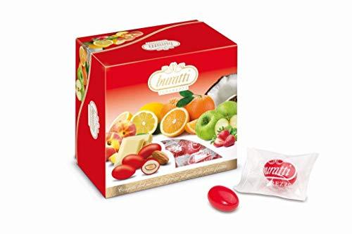 Buratti Tegsvas Confetti Tenerezze Vassoio Misto Frutta Rosso - 0.50 Kg