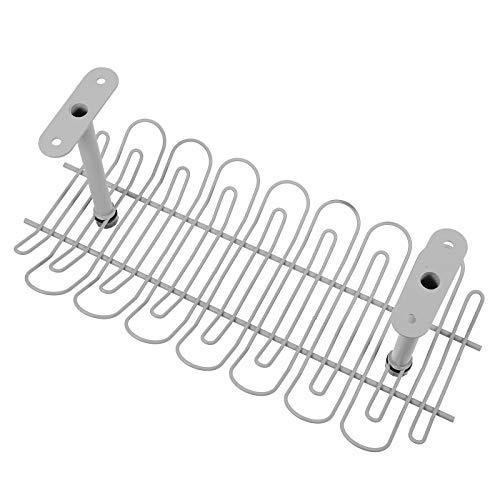 Bandeja de administración de cables debajo del escritorio Organizador de cables compacto para administración de cables