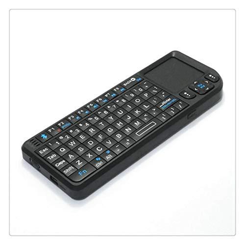 Liberación Mini Teclado Inalámbrico Portátil con Bluetooth 2.4G Controlador con Mouse Presspad Incorporado para PC Notebook Smart TV Box