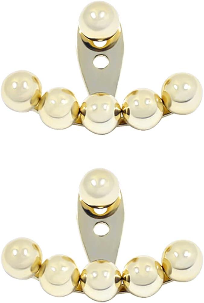 Ear Jacket Earrings for Women Women's Earring Jackets for Studs Ball Ear Jacket Front Back Jacket Earrings Earrings Jackets for Women Front Back Stud Earrings Ear Jacket Stud Earrings for Women