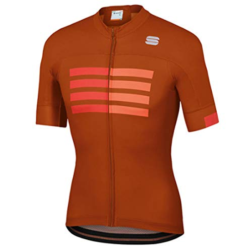 Sportful Wire Jersey - Sienna/fire Rouge/orange