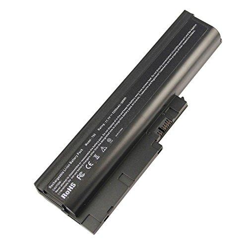 """ARyee 5200mAh 11.1V T60 Batteria per portatile per notebook Lenovo ThinkPad T61 T61p R61 R61i R61e (schermo largo 15.4"""") R60e R60"""
