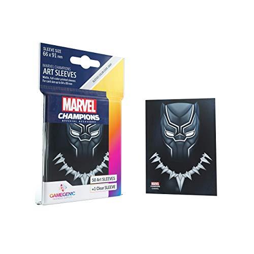 GAMEGEN!C Marvel Champions Sleeves Black Panther (G10094)