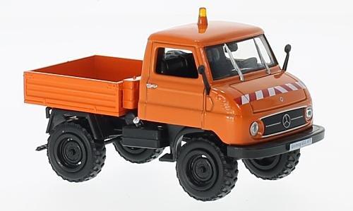 Mercedes Unimog U 411 (U32) , orange, Kommunal, 0, Modellauto, Fertigmodell, SpecialC.-66 1:43