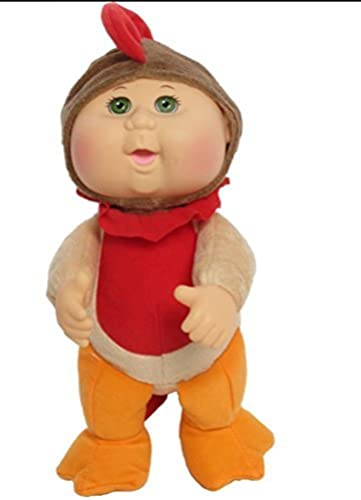 Cabbage Patch Kids 9 inch Farm Cuties - Rocky Rooster Grün Eye by DG Shopping Spree