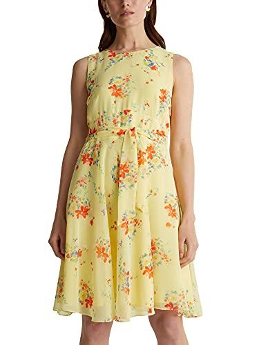 Esprit Collection Damen Kleid, Gelb