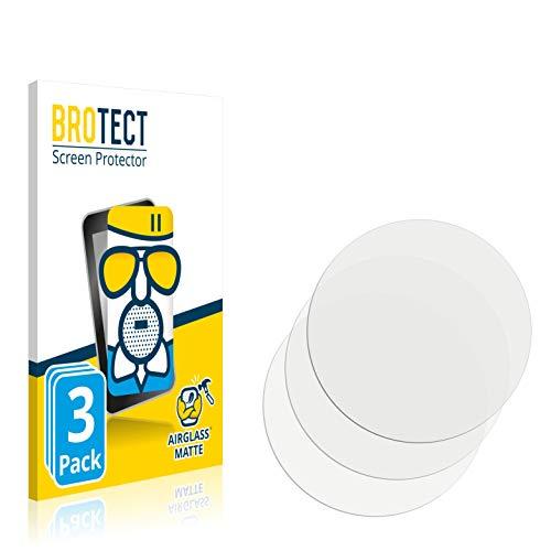 BROTECT Protector Pantalla Cristal Mate Compatible con Hublot Big Bang e Premier League Protector Pantalla Anti-Reflejos Vidrio, AirGlass (3 Unidades)