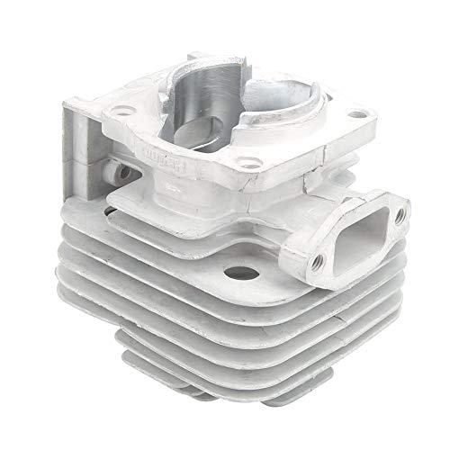 43CC Cilinderkop, Heaveant 43CC 2-Takt Motor Cilinderkop Compatibel Met 40mm ZAKFIETSEN APC HAKSELAARS