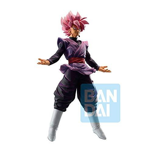 Banpresto-BP16123 Dragon Ball Dokkan Battle, Figura de Acción, Goku Black Super Saiyan Rose (Bandai BP16123)
