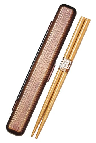 53,147 sharpening HAKOYA VINTAGE 18.0 Sensuji chopstick case set gold (japan import)