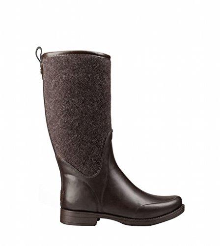 MARION Footwear Damen reignfall Schokolade Gummi Außensohle 32,4cm Schaft Höhe Wasserdichte Konstruktion Tall Stiefel Schuhe 1014455, damen, schokoladenbraun, W7=UK5.5=EUR38