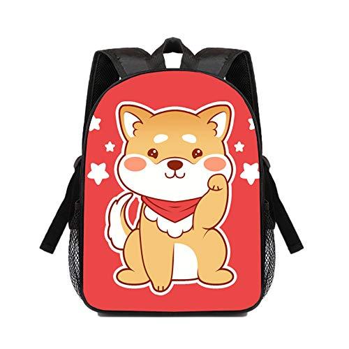 huateng Mochila japonesa Kawaii 3D para, mochilas escolares japonesas Shibalnu para mochila informal, mochila para adolescentes, niños y niñas, 34 * 25 * 11 cm