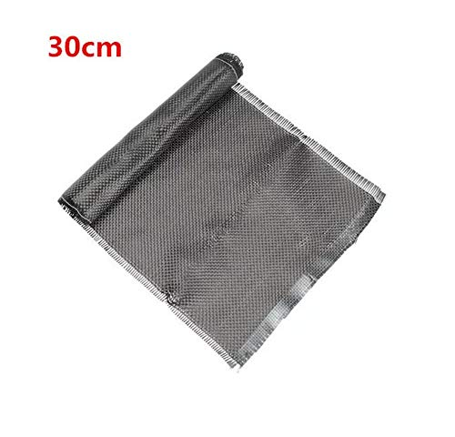 SUCAN 3K 200gsm 20cm Plain Webart Carbon Faser Tuch Gewebe 30/60/150 / 300cm (30CM)