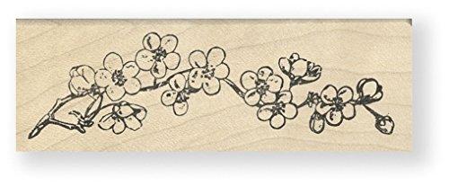Tampon en caoutchouc - Flower Branch - Cats Life Press 789 D