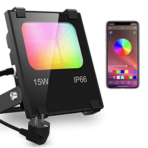 iLC Foco LED RGB de Colores 15W Inteligente Controlado por la Aplicación...