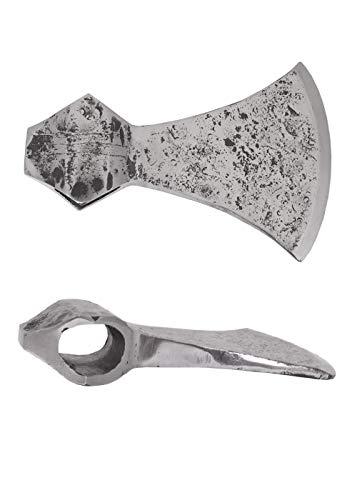 Hoja hacha forjada a mano de ULFBERTH Axt Hacha del Vikingo Edad media Vikingo scharf